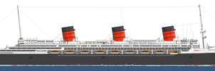 M.S Imperia Profile: Starboard. (Waterline.) by alotef