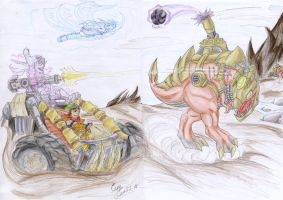 .Wasteland Rumble. by CopyCat87