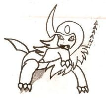 Absol by me -Anime-Manga-Freak by anime-love-club