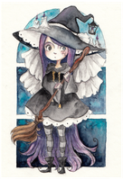 little witch by Marmaladecookie