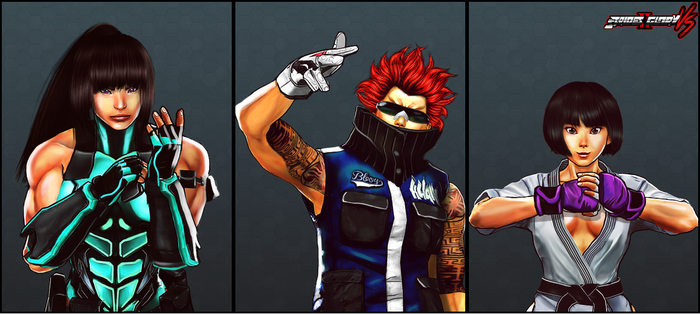 New Fight Portraits by ben187