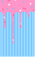 Deluxe adoptable - candie - custom box bg by T-e-a-K-i-t-t-y