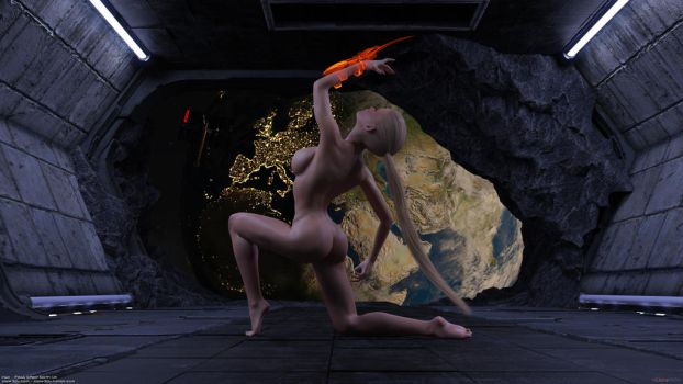 Irisa-mass-effect-earth-002a by Clare3Dx