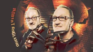 Robert Englund with Krueger glove by Anthony258