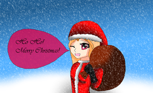 Irene Says Merry Christmas to all by HeroHeart001