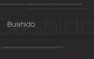 Bushido by 42nt1
