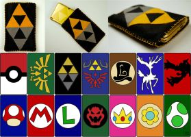 Nintendo 3DS/ 3DS XL Pouches by studioofmm