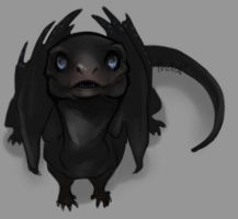 Baby Temeraire by AbelPhee
