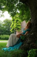 Under a Tree 34 by MarjoleinART-Stock