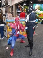 Spider-Man and Agent Venom by pa68