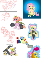Random Pony Stuff #10: Have I posted any of this? by FicFicPonyFic