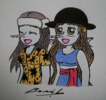 FA:Aurore and Me by Alicetiger