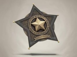 Sheriff badge by samuraydesign
