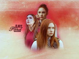 Amy Pond Layout by razerblade-10