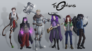 LARP Group for Chris by Spinturnixx