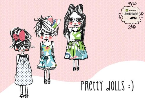+Pack de 3 dolls png by A-DiaaEditions