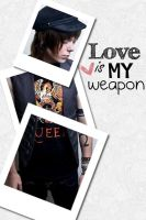 Love is my weapon by Theworldinsilence