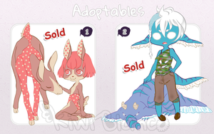 Adoptables: Set 2 (Closed) by KiwiBlanco