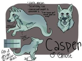 casper!! by wolfhailstorm