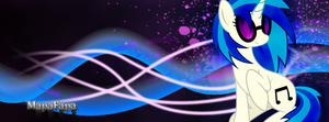 Vinyl Scratch Facebook Cover by MapaFapa