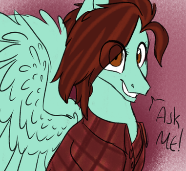 Ask Seafoam Dust by Nightyscribbles
