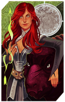 Commission: Samarra tarot by RedlyJester