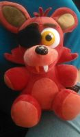 My Foxy plush!!!!! by sonicartist16