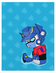 Sparkling Optimus by clipchip