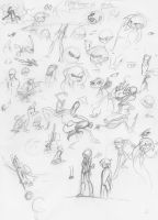 Sketch Dump 7/15/13 by Saber-Cow