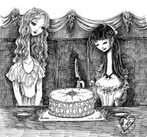 Cake Party by sadwonderland