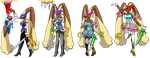 Lopunny Clown Transformation by TF-Circus