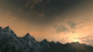 Whiterun's Backyard by Heronymous