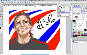 Hope Solo WIP 4 by LCMorganTDA