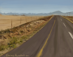 Background practice 2 by Gloriaus