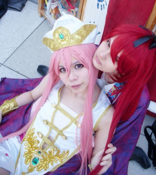 Magi the labyrinth of magic Cosplay Kouha Koumei by Fuulala