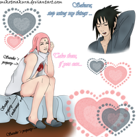 Sasusaku My things by MikotoSakura