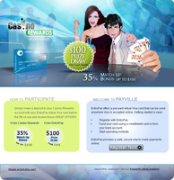 Casino Landing Page by mangion