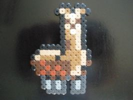 Llama, Perler Beads by DarkTangrowth