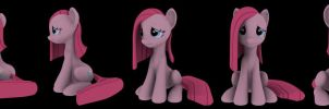 Sad sitting Pinkie wip 02 by Hashbro