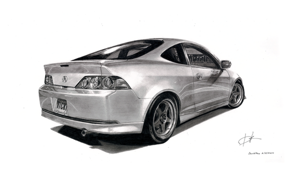 Acura RSX by david10072