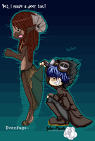 Collab with: *Tallywag aka ~Tyler-Pixel by BaqiLiv