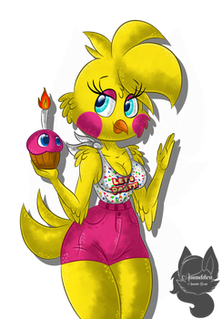 Toy Chica .:in my AU:. by Amanddica