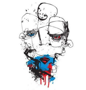 Superman by BangBangTshirts
