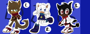 Sonic Adoptables 126 by DarkBlueGlass