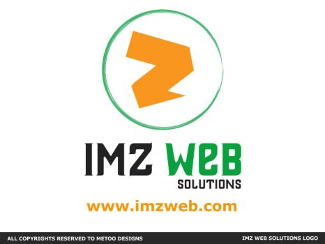IMZ web Solutions Logo by Ma7moudMetwally