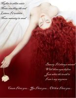 White Satin Lover by QueenDevious