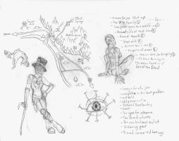 Elliot Sketches and Notes by Allison-beriyani