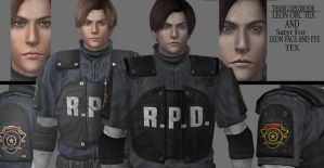 Leon s kennedy re texture 2 - download now ! by WeskerFan1236