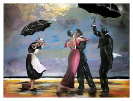 Jack Vettriano - The Singing B by William-Carroll