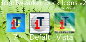 IconTweaker Dock Icons V2 by Vinis13